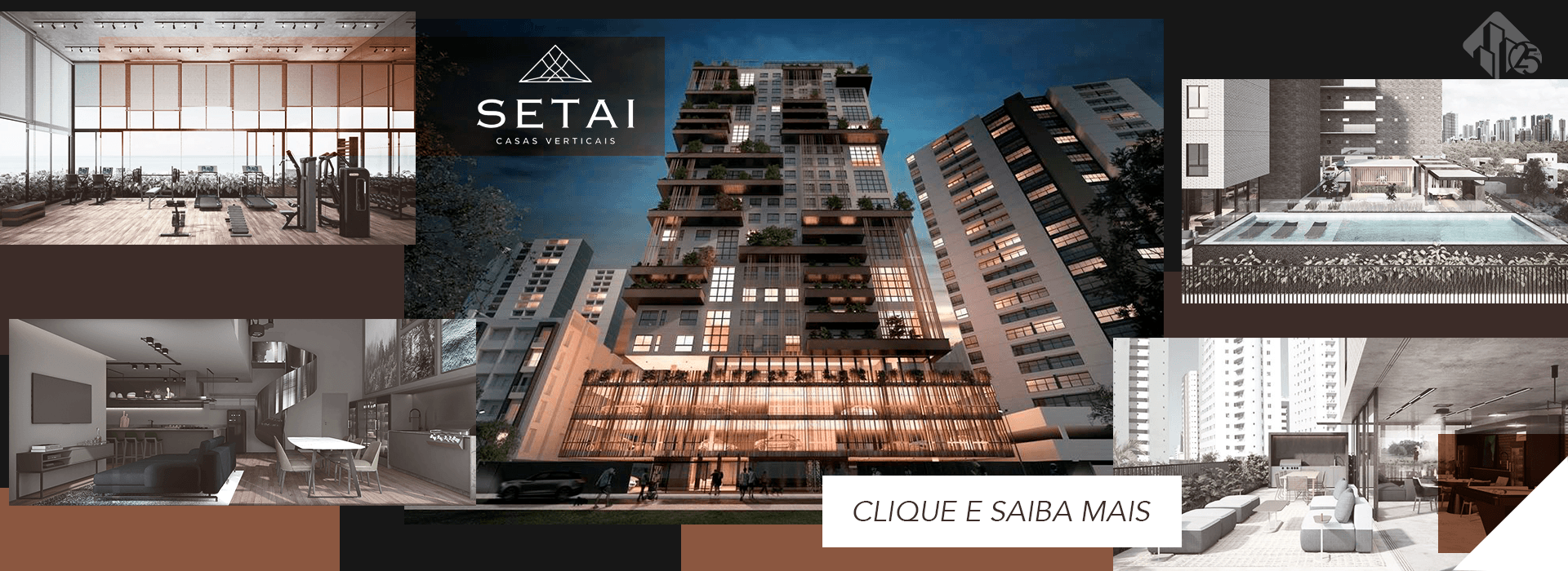 Setai | Casas Verticais