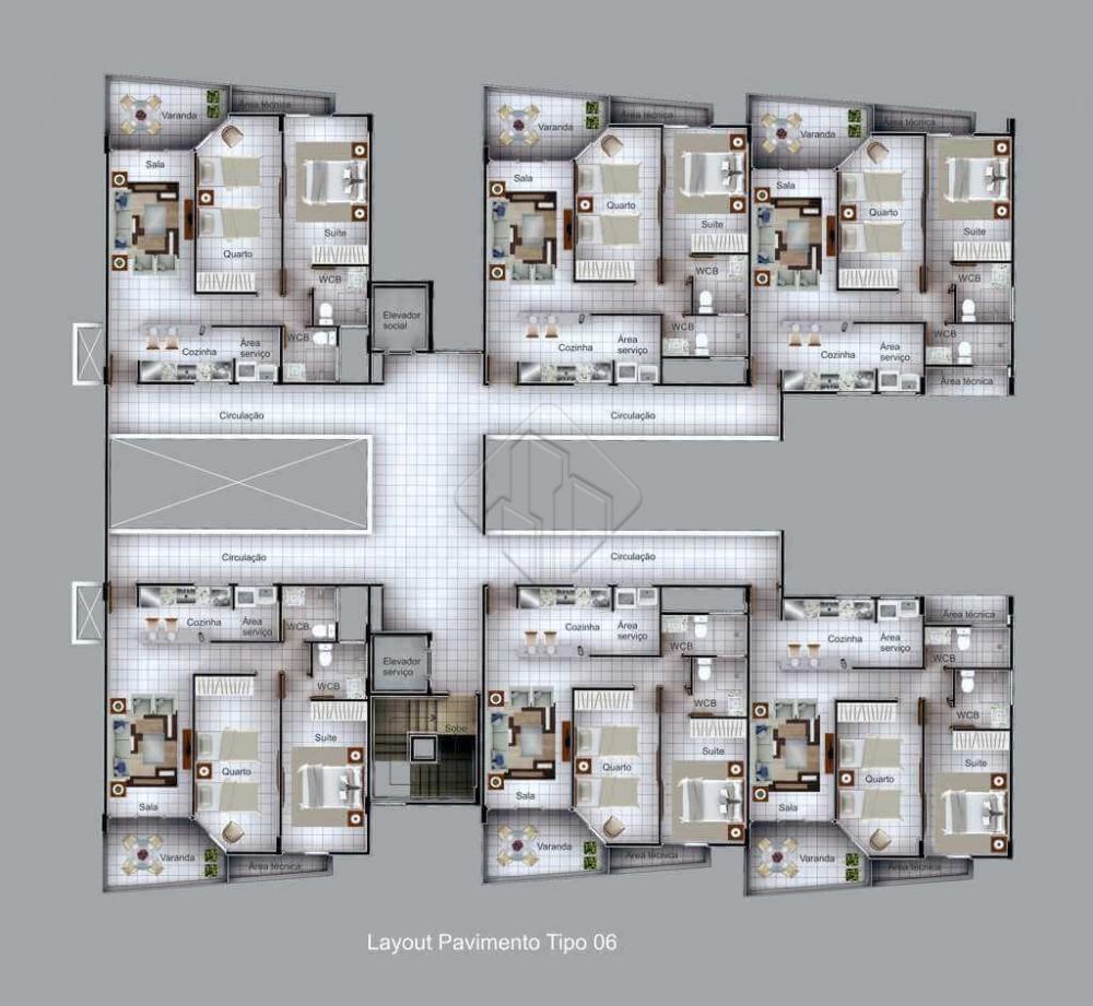 Detalhes do Empreendimento: Apartamentos:  Apartamentos com 71m² a 324m² Sala 2 ou 3 quartos Suíte WC Cozinha Área de Serviço   Área de lazer:  Piscina Home Cinema Espaço Kids Academia Salão de Festas