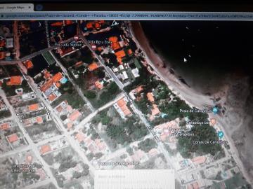 Dois lotes de 15X30 cada, dando a duas ruas, totalizando 900m. Localizados a 250 m da Praia de Jacumã. Possibilidade de troca por apartamento em João Pessoa, a uma distância máxima de praia de 600m. , de menor valor.